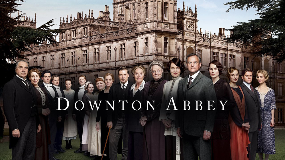 Downtown Abbey Affiche